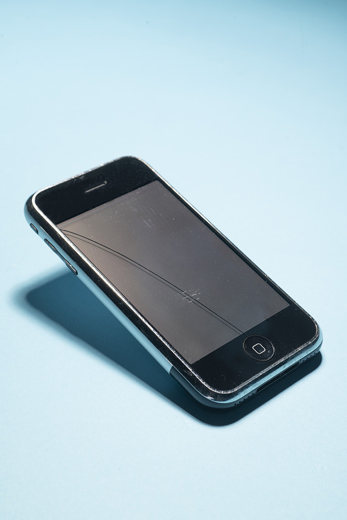 Smartphone iPhone (2G), 2007