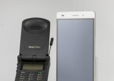 Motorola StarTAG und das Smartphone Huawei P8lite