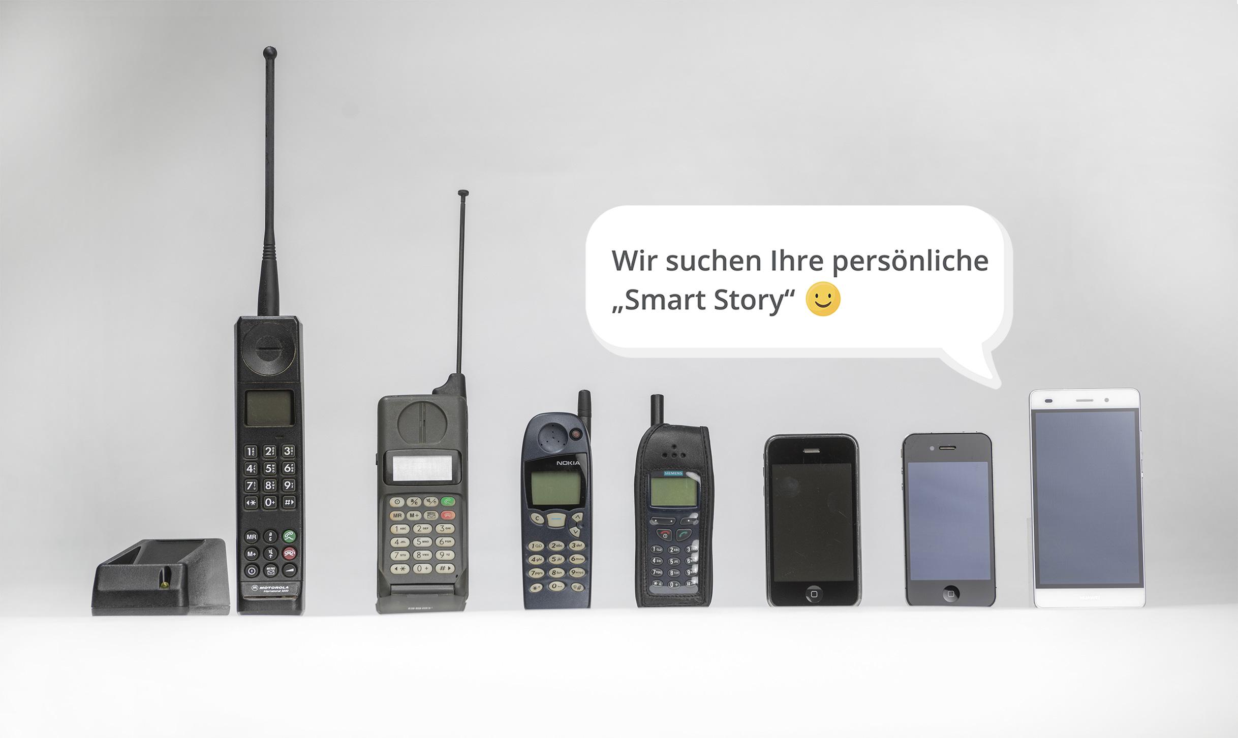 Sammlungsaufruf der Museumsstiftung Post und Telekommunikation Smartphone 25