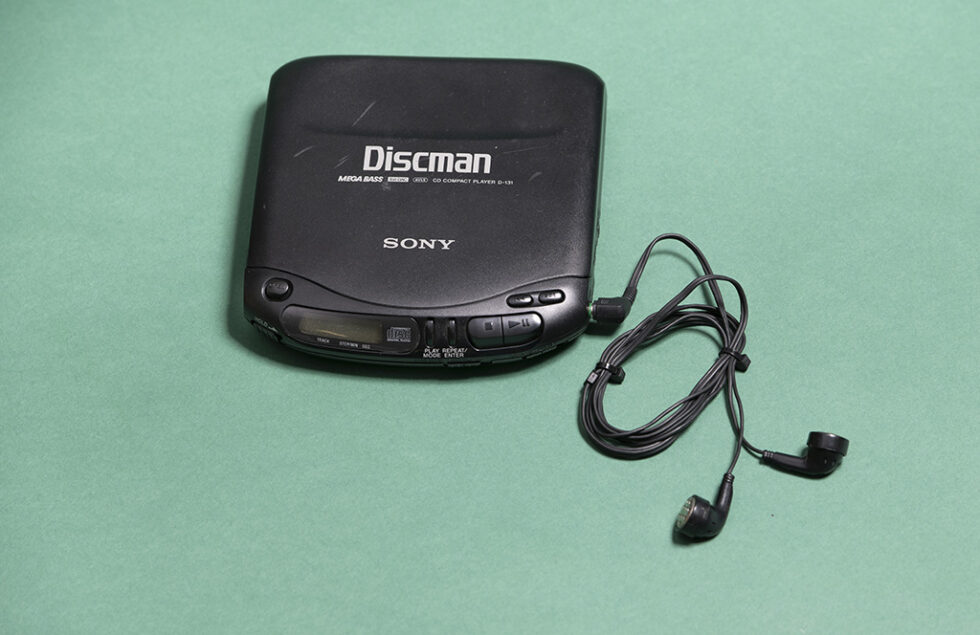 Portabler CD-Player Discman, Sony, 1995