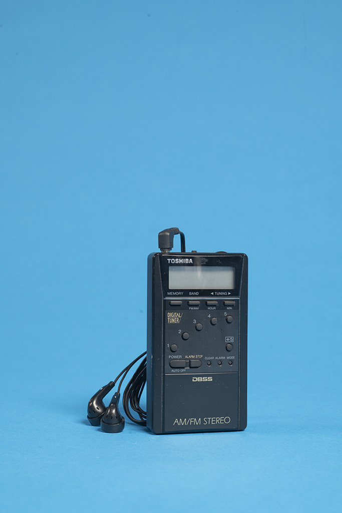 Radio-Walkman RP-2059, Toshiba, 1992
